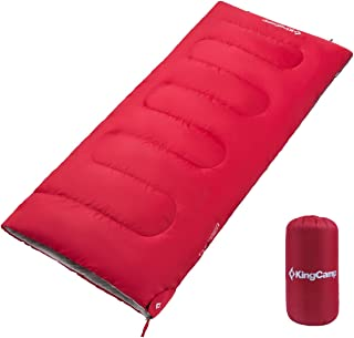 Lightweight Compact 3 Season Joinable Envelope Sleeping Bags for Adults Outdoor Camping Hiking, Extreme Temperature 39.2℉, 2 lbs, Compression Bag Included