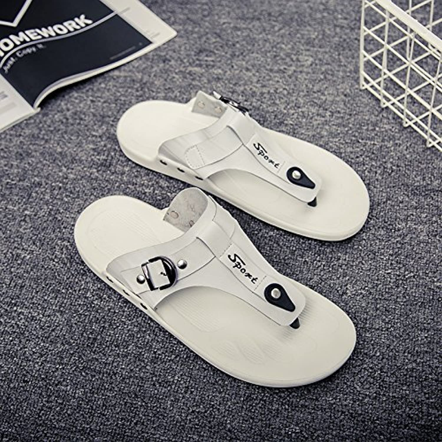 @Sandals European And American Slippers, Slippers, Slippers, Beach shoes, Korean Version