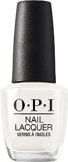 OPI Nail Lacquer, Long Lasting Nail Polish, Funny Bunny, White, 0.5 Fl Oz