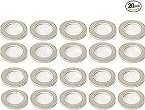 Oil Pan Drain Plug Gasket 21513-23001(20 Pcs)For Hyundai Aluminum Washer