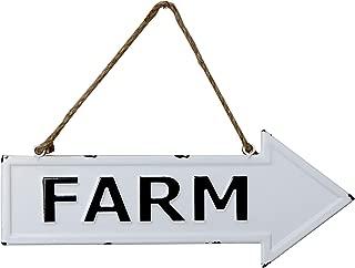 "Barnyard Designs Farm Rustic Vintage Enamel Bar Sign Country Home Decor 17.25"" x 6.75"""