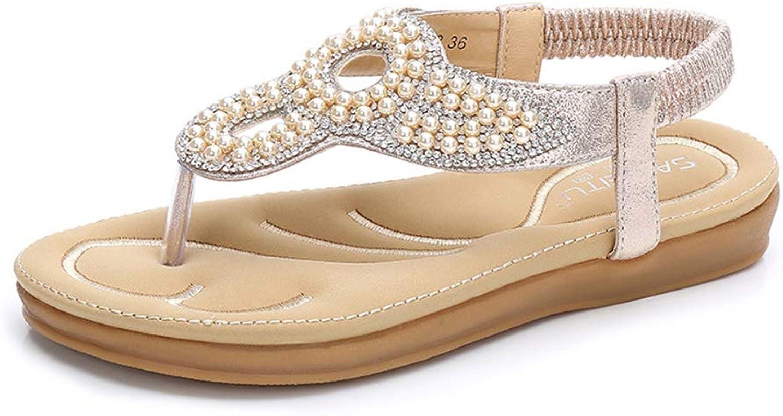 Sandals Unisex Adult PU Flip Flops Women Comfortable Lightweight Sandals with Arch Support