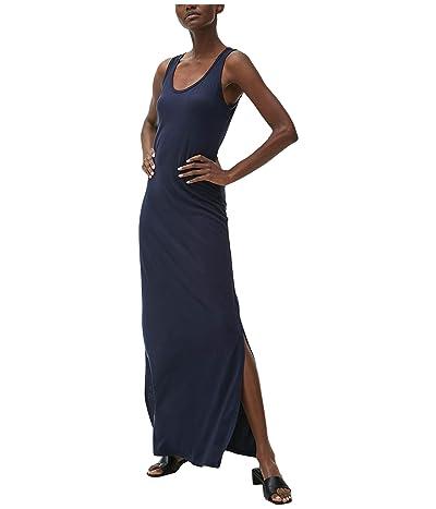 Michael Stars Cotton Modal Isabelle Sleeveless Neck Maxi Dress (Admiral) Women
