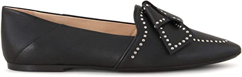 Tod& 039;s - Flat schuhe in schwarz Leather with Bow and Studs - XXW22B0AS30NGLB999
