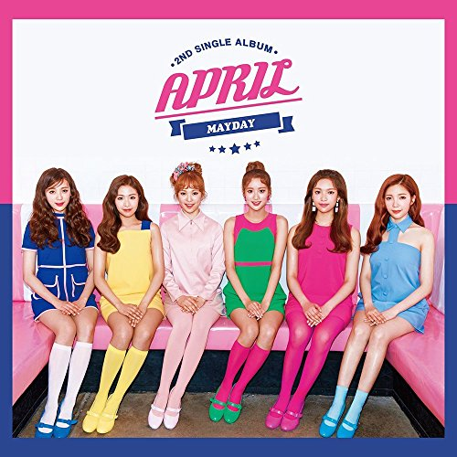 DSP Media April - Mayday (2Nd Single Album) Cd+Photobook+Photocard