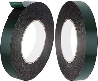 Faburo 2 Rollos 10m × 20mm Cintas adhesivas de doble cara, Cinta de Montaje de Doble Cara