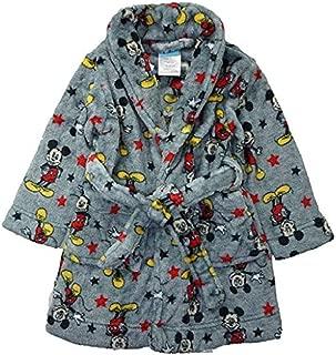 Toddler Mickey Mouse Robe Bathrobe Pajamas