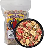 SLEEK & SASSY NUTRITIONAL DIET Garden Complete Pellet Parrot Food (2 lbs.)