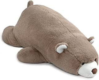 GUND Snuffles Laying Down Teddy Bear Stuffed Animal Plush, Taupe, 27