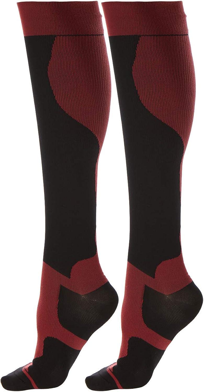 Daresay Unisex Knee Kansas City Mall Popularity High Athletic Men 15 Compression Socks Women