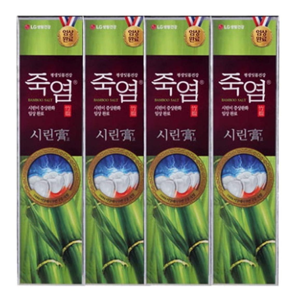 悲劇的なベーコンアパート[LG Care/LG生活健康]竹塩歯磨き粉つぶれて歯茎を健康に120g x4ea/歯磨きセットスペシャル?リミテッドToothpaste Set Special Limited Korea(海外直送品)