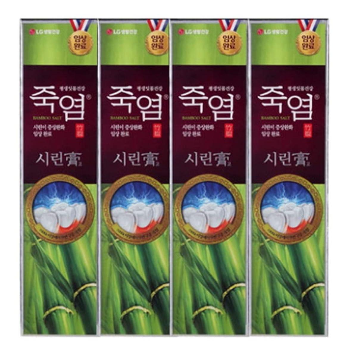 試す帝国取り組む[LG Care/LG生活健康]竹塩歯磨き粉つぶれて歯茎を健康に120g x4ea/歯磨きセットスペシャル?リミテッドToothpaste Set Special Limited Korea(海外直送品)