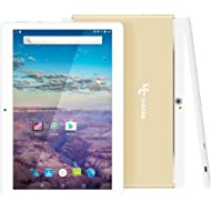 YUNTAB 10.1 inch Unlocked 3G Tablet Smartphone, Android OS, Support Dual SIM Cards, Quad Core...