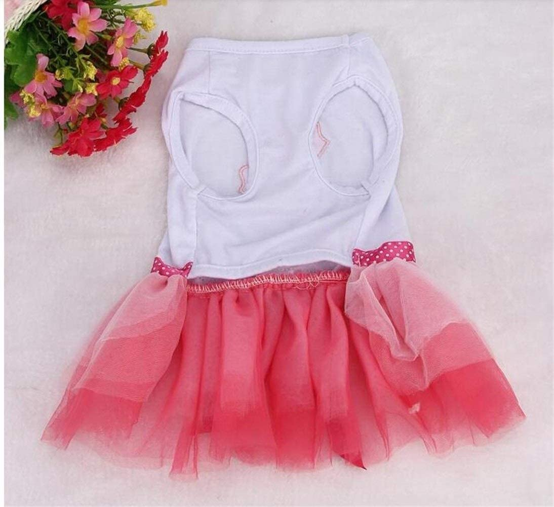 Complete Free Shipping Dog Clothes for Small Dogs Spring Austin Mall Dress L Summer Puppy