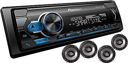 "Pioneer MXT- S3166BT Digital Media Receiver + (4) 6.5"" 2 Way Speaker Bundle with Pandora Premium Trial"