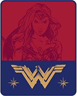 Wonder Woman Silky Soft Throw Blanket