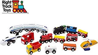 Best magnetic wooden trains Reviews