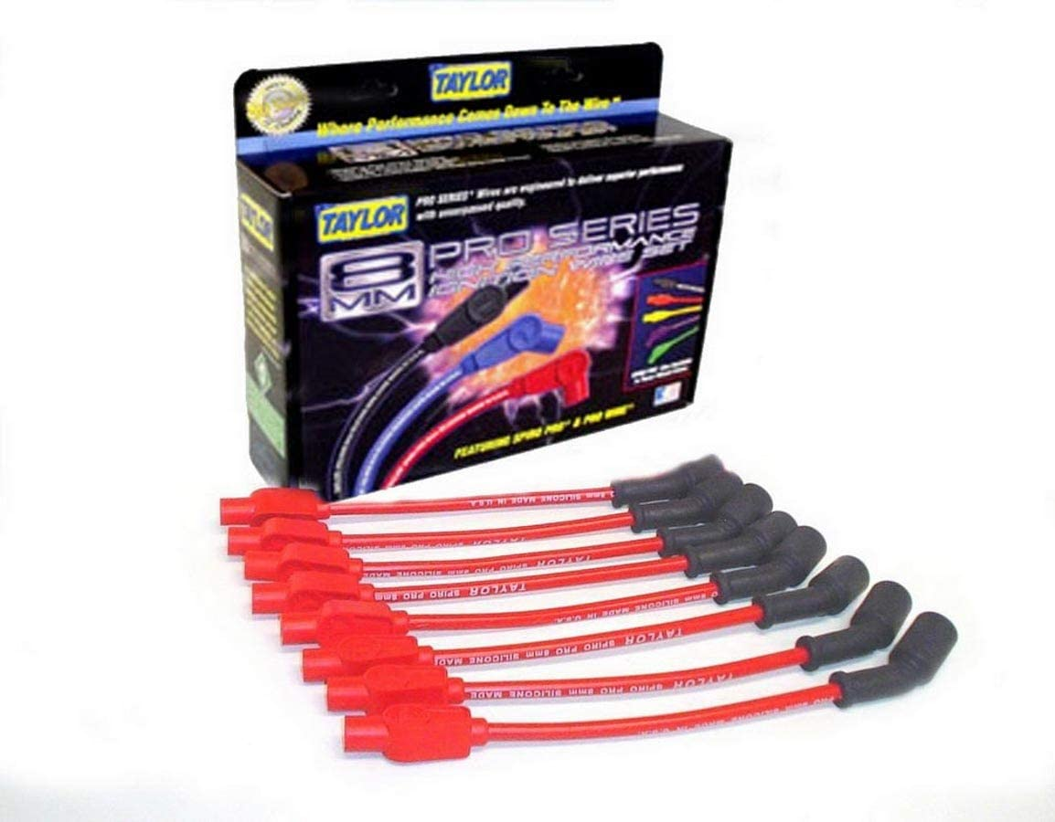 Taylor Cable 74244 Spiro-Pro Ranking TOP17 Red Max 78% OFF Spark Plug Wire Set