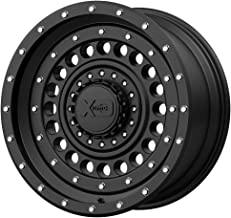 XD Series by KMC Wheels XD136 PANZER Wheel with BLACK and Chromium (hexavalent compounds) (20 x 9. inches /6 x 106 mm, 0 mm Offset)