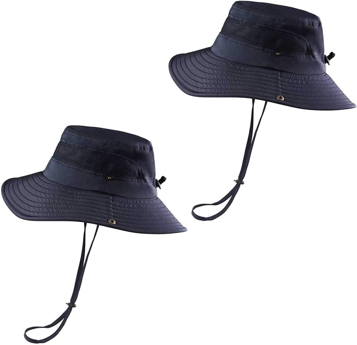 KOOLSOLY Breathable Wide Brim Challenge the lowest price of Japan ☆ Boonie Outdoor Hat UPF Waterproof New color