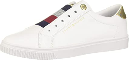 Tommy Hilfiger Slip On Bianco, Bianco
