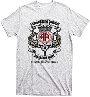 Warface Apparel 82nd Airborne Division Army T-Shirt Paratrooper 2 Sided Print