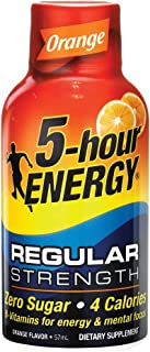 5 hour ENERGY Orange Regular, Orange, 57 ml