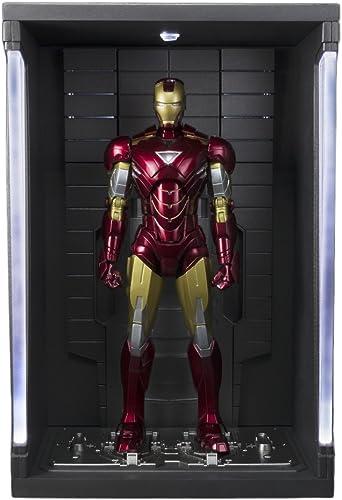 Bandai Iron Man Mk VI und Set Hall Rüstungen, Figur 15cm, Marvel-Iron Man S.H. Figuarts
