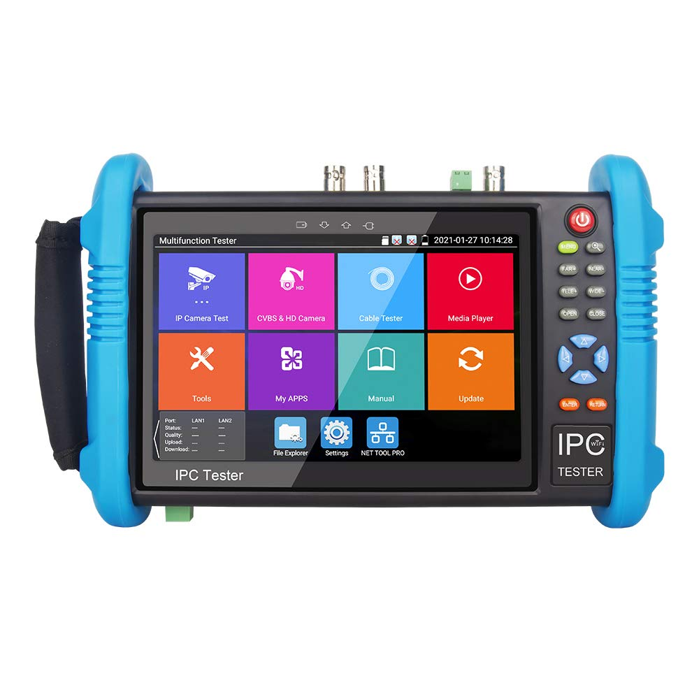NOYAFA Upgraded IPC-9800ADHS Plus safety IP Camera OFFicial site 7inch IPS Tester Tou