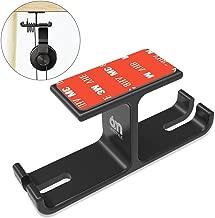 Dual Headphone Mount Under Desk, 6amLifestyle Universal Headset Holder Aluminum Earphone Hanger Hook with Cable Organizer