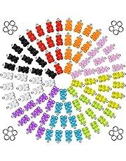 UR URLIFEHALL Blandade färger harts hängen för smycken göra DIY-fynd tillbehör