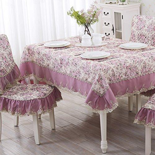 DXG&FX pastorale maaltijd tafel tafelkleed Hotel salontafel ronde langwerpige tafelkleed tafelkleed afdekdoek