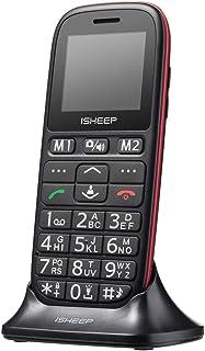 Teléfono móvil con Personas Mayores, Teclas Grandes,