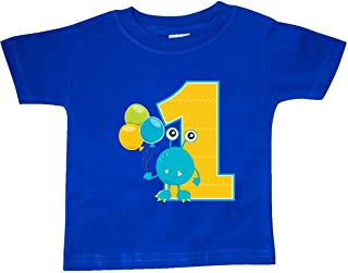 inktastic First Birthday Monster Baby T-Shirt