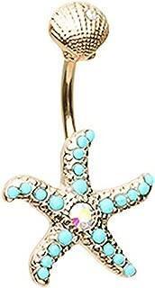 Best starfish navel ring Reviews