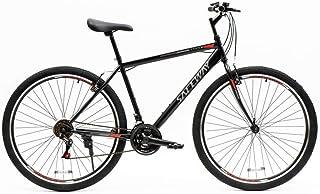دراجة هوائية رياضية جبلية من  سيف واي  مقاس 19.5  انش بيكبل من الحديد وناقل حركة نسخة من شيمانو ومساعد امامي