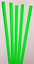 green acrylic rod