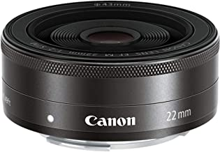 Canon EF-M 22mm f2 STM Compact System Fixed Lens (Renewed)