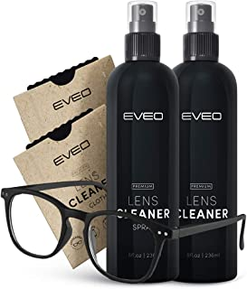 Eyeglass cleaner spray - Glasses cleaner with Lens cleaner for eyeglasses | Eye glass cleaner, Glasses cleaning kit