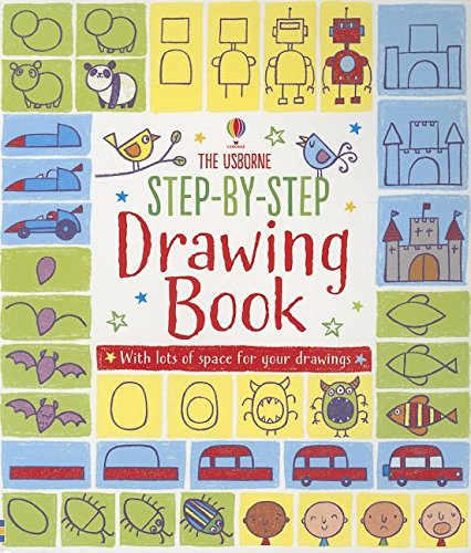 Step-By-Step Drawing Book (Activity Books for Little Children)