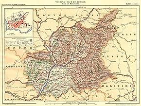 ALPES-DE-HAUTE-PROVENCE: Département. Inset city town map plan of Digne;1902