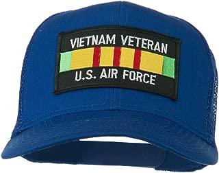 e4Hats.com US Air Force Vietnam Veteran Patched Mesh Cap