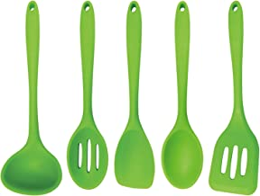 Better Houseware 5Piece Silicone Cooking Utensil Set, Green