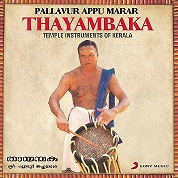 Thayambaka (Temple Instruments of Kerala)