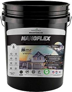 NANOFLEX. Impermeabilizante y Escudo Térmico UV, Retardante de Flama, Orgánico, Ideal para fachadas Exteriores e Interiore...