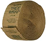 Walter E Clark 3-Inch by 50-Foot Tree Wrap 00303, 1-(Pack) - 117919 , brown