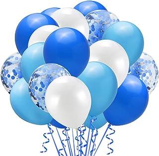 50 Pieces 12inch Gold Confetti Latex Balloons Set for Ramadan Eid Weddings Birthday Party Decoration Bridal Baby Shower (B...
