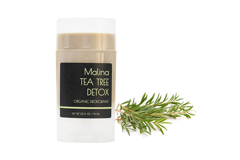Tea Tree Detoxifying Deodorant Finally popular brand for Organic Al Skin Cheap mail order specialty store Sensitive