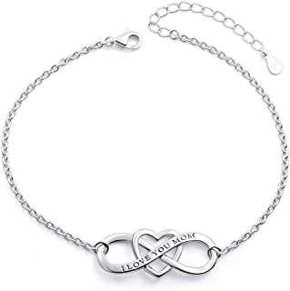 Mother's Birthday Gifts S925 Sterling Silver