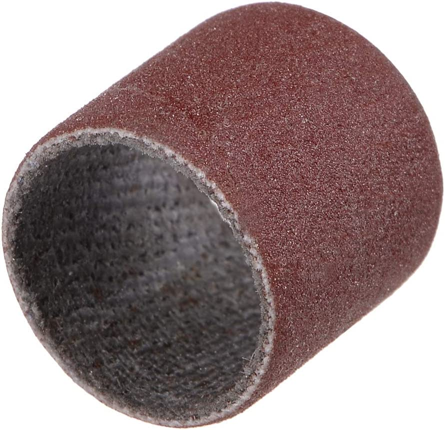 sourcing map 1//2 pollici tamburo mandrini gomma 2,35 mm gambo manicotto abrasivo Titolare per utensile rotante